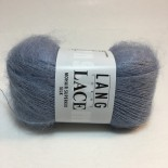 Lang Yarns Lace Mohair Superkid Silk f0133 Dimmljusblå