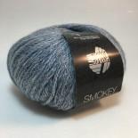Lana Grossa Smokey f210 Blåvit
