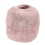 Lana Grossa Brillino f008 rosa m ljusrosa tråd