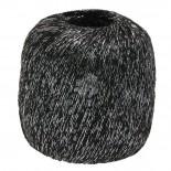 Lana Grossa Brillino f013 svart m svart tråd