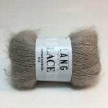 Lang Yarns Lace Mohair Superkid Silk f0026 gråbeige