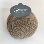 Cardiff Cashmere Single f511 Brown