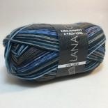 Lana Grossa Meilenweit 100 College f03201 blåbrun