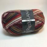 Lana Grossa Meilenweit 100 College f03203 rödbrungrå