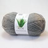 Hjertegarn Aloe Sockwool f435 mellangrå