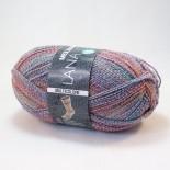 Lana Grossa Meilenweit 100 Multicolore f5733 blå multi