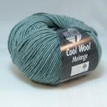 Lana Grossa Cool wool melange f132 blågrön