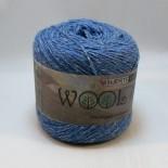Hjertegarn Wool silk f3004 blå