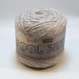 Hjertegarn Wool silk f3013 ljusgrå