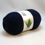 Hjertegarn Aloe Sockwool f1660 mörkblå