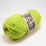 Rauma Finullgarn 0454 gulgrön