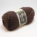 Rauma Finullgarn 0464 mörkbrungrå