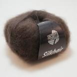Lana Grossa Silkhair f016 mörkbrun