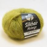 Lana Grossa Silkhair Melange f718 grön - utgår