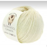 Lana Grossa Slow wool Canapa f0001 offwhite