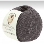 Lana Grossa Slow wool Canapa f0014 lilabrun