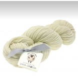 Lana Grossa Slow wool lino f001 offwhite