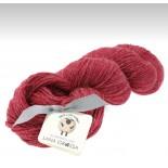 Lana Grossa Slow wool lino f014 Hallonröd