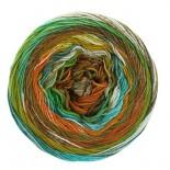 Lana Grossa Gomitolo Denim Inca f0156 senapturkosgrönrost