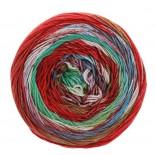 Lana Grossa Gomitolo Denim Inca f0157 röditmintljusblå