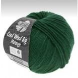 Lana Grossa Cool wool big melange f350 mörkgrön