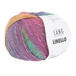 Lang yarns LINELLO f0054 Mjuk regnbåge