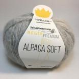 Regia Alpaca Soft f00090 ljusgrå