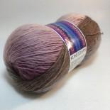 Hjertegarn Kunstgarn f27 gammalrosabrun