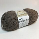 Hjertegarn Lana Cotton 212 f809 brun