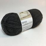 Hjertegarn Lana Cotton 212 f403 mörk grå