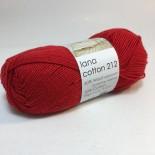 Hjertegarn Lana Cotton 212 f2060 röd