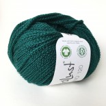 Lana Grossa Landlust Merino 120 f116 djupt blågrön