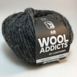 Wool Addicts Air f0005 mörkgrå