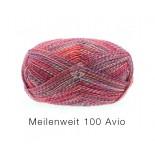 Lana Grossa Meilenweit 100 Avio f1753 hallonrosablåmel.