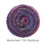 Lana Grossa Meilenweit Rainbow 150 f106 lilarosaljung