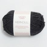 Sandnes Merinoull f1055 mörkt gråmel