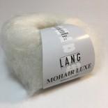 Lang Mohair Luxe f0001 vit