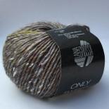 Lana Grossa Only Tweed f107 grå