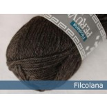 Filcolana Peruvian Highland wool f975 Dark chocolate (mel)