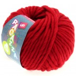 Lana Grossa Lei f033 Röd