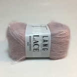 Lang Yarns Lace Mohair Superkid Silk f0009 dimmljusrosa