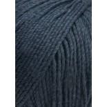 Lang yarns Soft Cotton f0025 svartblå