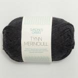 Sandnes Tynn Merinoull f1055 mörkt gråmel