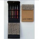 Lana Grossa KnitPro Virknålset Svart Design Holz 2,5-5mm